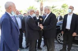 شاهد: هنية يصل إلى المغرب على رأس وفد قيادي من حماس