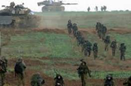 الاحتلال يجرى تدريبات بغلاف غزة تحاكي التعامل مع تسلل مسلحين