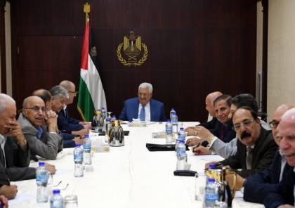 """قيادي فلسطيني يكشف جدول أعمال اجتماع """"التنفيذية"""" برئاسة الرئيس عباس"""