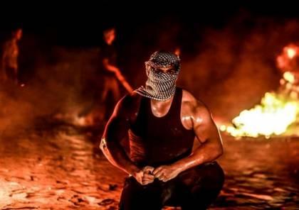 اصابات جراء قمع الاحتلال لفعاليات الارباك الليلي شرقي رفح
