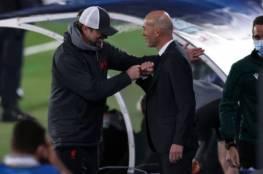 زيدان يحذر لاعبي ريال مدريد بعد الفوز على ليفربول
