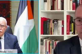 """المالكي يدعو ألمانيا للضغط على """"إسرائيل"""" لإجراء الانتخابات في القدس"""