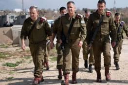 للمرة الثالثة منذ اسبوعين.. كوخافي يتفقد مستوطنات غلاف غزة