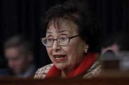 النائبة لوي تحث مجلس الشيوخ على تمرير قانون الشراكة الفلسطينية الإسرائيلية
