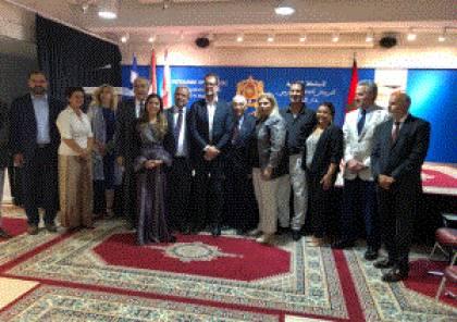 السفير معروف يسلم وسام الصداقة للنائب الكندي اليكساندر بولوريز