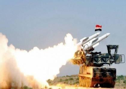الدفاعات السورية تسقط طائرة إسرائيلية غربي دمشق