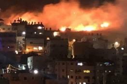 جيش الإحتلال يكشف عن عدد الطائرات والقذائف التي أغارت على غزة الليلة الماضية