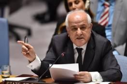 منصور يبعث رسائل متطابقة حول تزايد اعتداءات الاحتلال بحق شعبنا