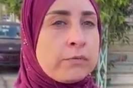 شاهد : ماذا قالت زوجة الأسير منتصر شلبي على هدم الاحتلال منزلهما برام الله؟