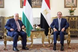 صور: بدء القمة الثلاثية وهذا ما دار بين الرئيس عباس والسيسي ..