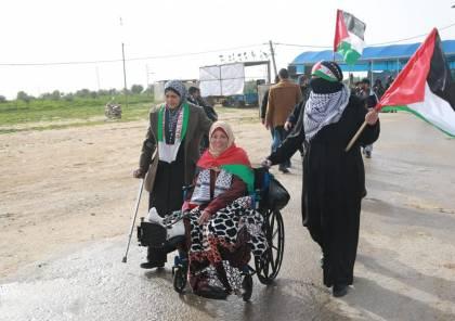 صور...20 اصابة خلال قمع الاحتلال لمسيرات العودة شرق قطاع غزة