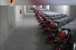 الحرس الثوري الإيراني يكشف عن مدينة جديدة للصواريخ تحت الأرض..فيديو