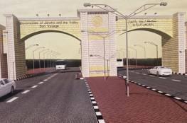 الرئيس يفتتح بوابة مدخل محافظة أريحا والأغوار وأعمال تطوير مشروع مدينة القمر