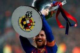 فيديو.. هدف ميسي ضد ليفانتي يتوج برشلونة بطلاً رسمياً لليغا