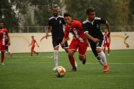 4 مباريات في دوري غزة الاثنين
