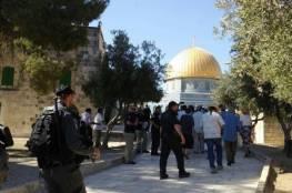 شرطة الاحتلال ومستوطنون يقتحمون الأقصى ومصلى باب الرحمة