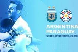 موعد مباراة الأرجنتين وباراغواي والقنوات الناقلة وترتيب المجموعة