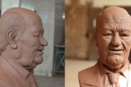 تغريدة.. تمثال للفنان حسن حسني يغزو مواقع التواصل الاجتماعي