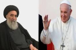 البابا فرانسيس في النجف للقاء تاريخي مع السيستاني
