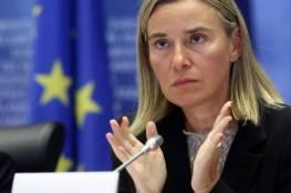 موغيريني: الاتحاد الأوروبي موقفه واضح من الاستيطان الإسرائيلي ولن يتغير
