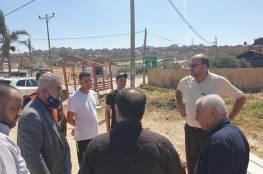 وزير الحكم المحلي: نسعى لمعالجة أزمة المياه جنوب شرق نابلس