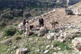 مسلسل انتهاكات متواصل لوضع اليد على أراضي حي وادي الربابة في سلوان