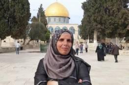 """الاحتلال يُبعد المقدسية رائدة سعيد عن """"الأقصى""""لمدة 6 أشهر"""