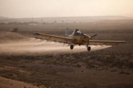 مؤسستان حقوقيتان تطالبان سلطات الاحتلال بوقف رش المبيدات شرق غزة