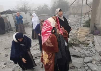الاحتلال يفجر منزل عائلة الاسير جبارين في يطا جنوب الخليل