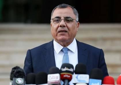 ملحم: مؤتمر صحفي للحكومة الفلسطينية مساء اليوم..