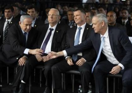 قناة 12:  اتصالات بين نتنياهو وغانتس لتشكيل حكومة جديدة بالتناوب بينهما