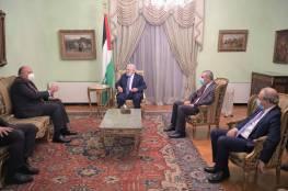 الرئيس يستقبل وزير الخارجية المصري