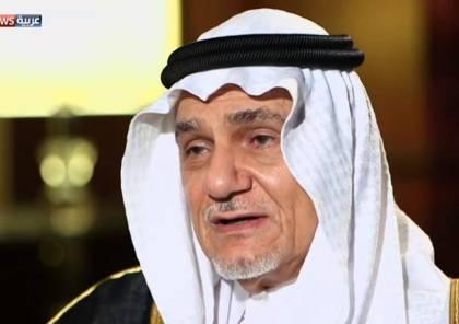 """وجه نداء للسلطة الفلسطينية.. تركي الفيصل يتحدث عن أبعاد """"المفاجأة"""" الإماراتية وينتصر لها"""