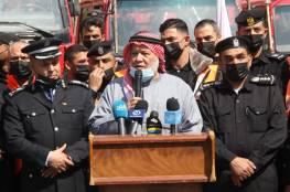 """""""الدفاع المدني"""" يدعو للضغط على الاحتلال للسماح بدخول المركبات والمعدات...صور"""
