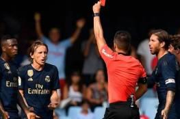 ريال مدريد يستأنف ضد قرار طرد لوكا مودريتش