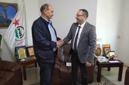 أبو يوسف يستقبل سفير نيكاراغوا لدى دولة فلسطين