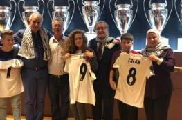 اسرائيل تتهم نادي ريال مدريد بدعم الارهاب لاستقباله عهد التميمي