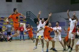 خدمات البريج يعتلي قمة دوري جوال الممتاز لكرة اليد