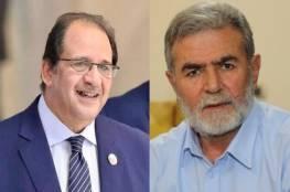 وفد من الجهاد الإسلامي برئاسة النخالة يصل القاهرة اليوم القاهرة