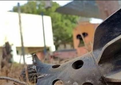 جيش الاحتلال يعثر على شظايا صاروخ سوري في الجولان