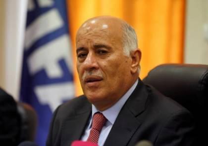 الرجوب يدعو لمقاطعة مؤتمر المنامة ويؤكد انه جزء من مؤامرة تصفية القضية الفلسطينية