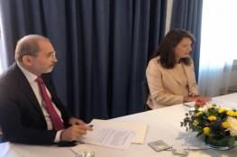 """الأردن والسويد يبحثان تحضيرات مؤتمر دولي لدعم """"أونروا"""""""