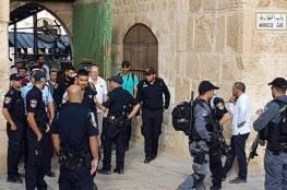 """الاحتلال يعتقل ثلاثة مواطنين من باحات """"الأقصى"""""""