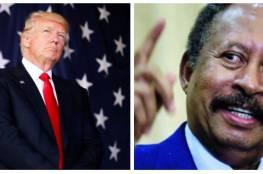 حمدوك يعلق على تغريدة ترامب حول رفع اسم السودان من قائمة الإرهاب