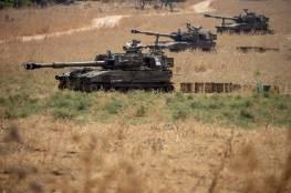"""الجيش الإسرائيلي يبدأ مناورة """"عاصفة البرق"""" عند حدود لبنان"""