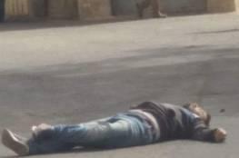 صور: استشهاد شاب بزعم تنفيذه عملية طعن في الخليل