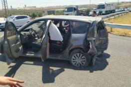 اصابة ٤ اشخاص بحادث سير عند مفرق تقوع