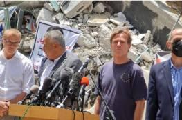 الاتحاد الأوروبي: نريد حلاً سياسياً لقطاع غزة وحكومة منتخبة تتولى ملف الإعمار