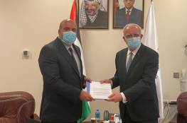 المالكي يتسلم نسخة من أوراق اعتماد الرئيس الجديد لمكتب تمثيل الارجنتين