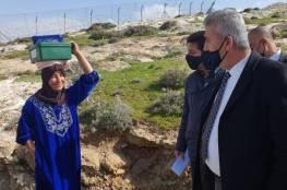الصالح يتفقّد مناطق معزولة بفعل إجراءات الاحتلال في محيط القدس